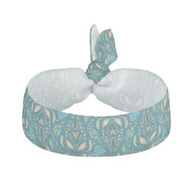 Elegant wedding floral rustic beautiful pattern hair tie