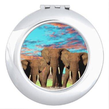 Elephant Opal Morning, Mirror For Makeup