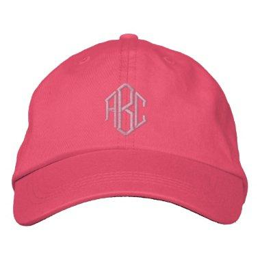 Embroidered Monogram Wedding Team Hat