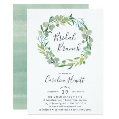 Eucalyptus Wreath Bridal Brunch