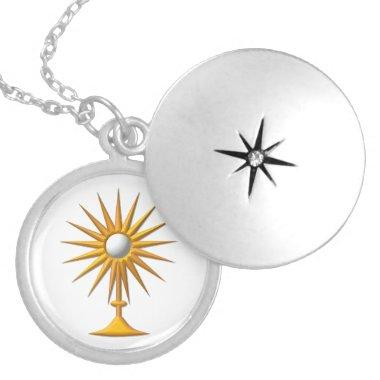 Eucharist in Monstrance Necklace