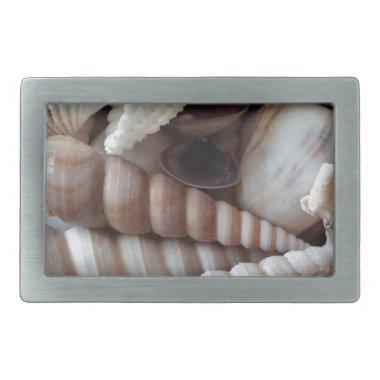 Exotic Seashells Collection, Summer Beach Belt Buckle