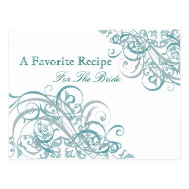 Exquisite Baroque Teal  Recipe