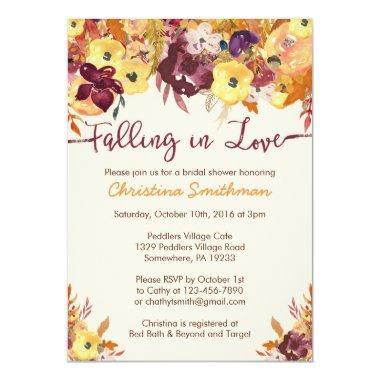 Fall  - Falling in Love