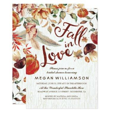 Fall in Love Autumn Harvest Pumpkin
