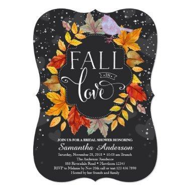 Fall In Love  Invite, Fall Wedding