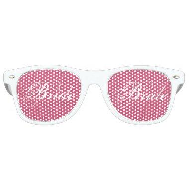 Fancy Bride White Retro Sunglasses