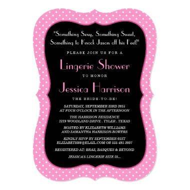 Fancy Lingerie Shower