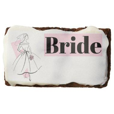 Fashion Bride Pink Bride brownie