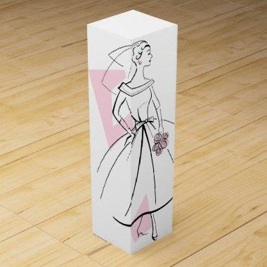 Fashion Bride Pink Group gift box wine