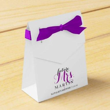 Favor Box - future Mrs. Fab Shower