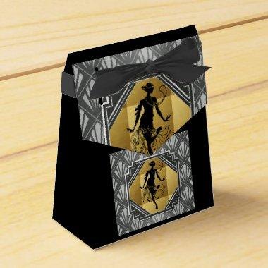 Flapper Art Deco Gatsby Small Tent Party Box
