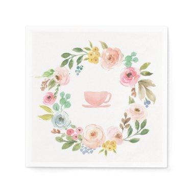 Floral  Tea Party Napkins