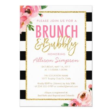 Floral Brunch and Bubbly