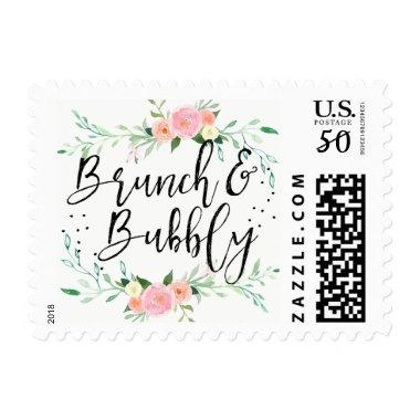 Floral Brunch and Bubbly  Stamp