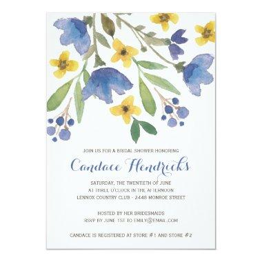 Floral Watercolor | Bridal Shower Invitations