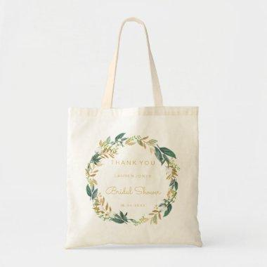 Floral Wreath  Gift Tote Bag