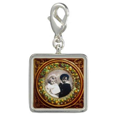 FLORENTINE RENAISSANCE FRUITS Photo Template Charm