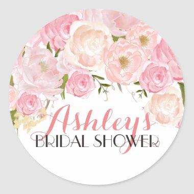 Flower Bridal Shower Sticker