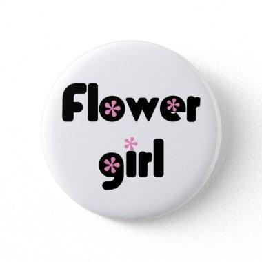 Flower Girl button