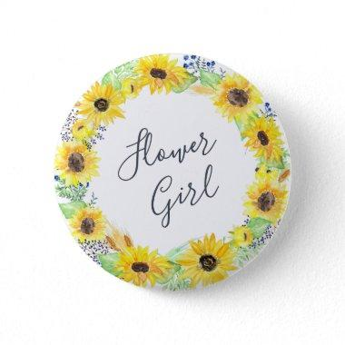 Flowerfields Collection | Flower Girl Button