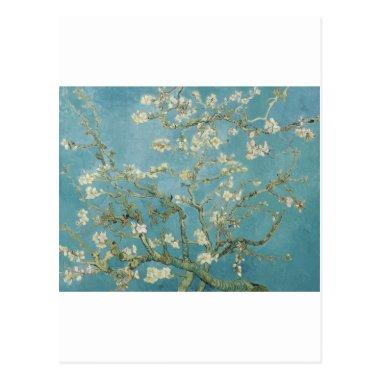 Flowers Gogh Branches Almond Blossoms Nature Post