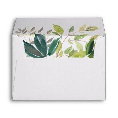 Foliage Wedding Invitations Envelope