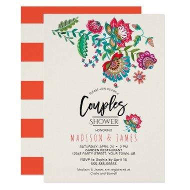 Folk Flowers | Couples Shower |