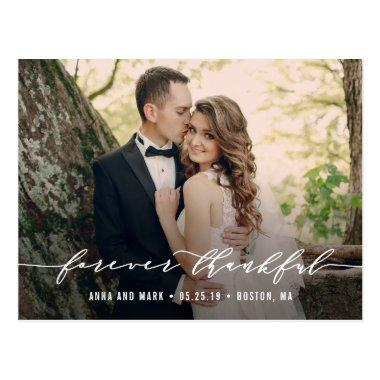 Forever Thankful Wedding Thank You PostInvitations