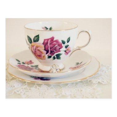 Formal Engagement, tea post, invite, Post