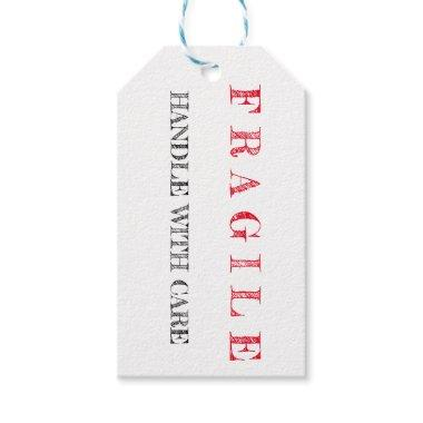 Fragile Handle With Care Travel Themed Gift Tags