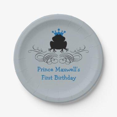 Frog Prince | Birthday Paper Plate
