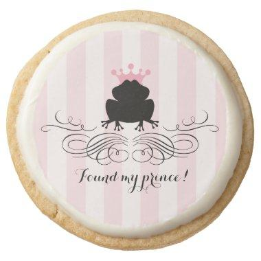Frog Prince Charming |  Round Shortbread Cookie