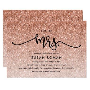 Futre Mrs. Rose Gold Glitter