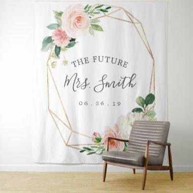 Future Mrs Bridal Shower Backdrop Photo Booth