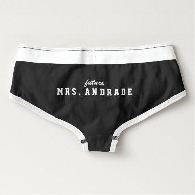 Future Mrs Panties for  Gift