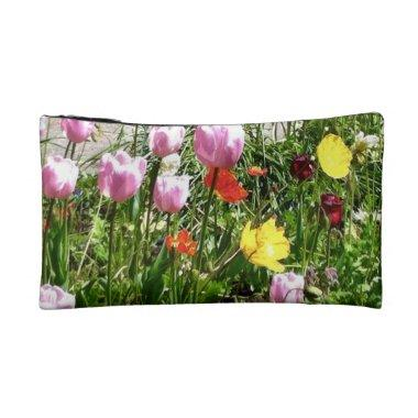 Garden cosmetics bag