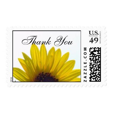 Giant Sunflower Thank You Stamps