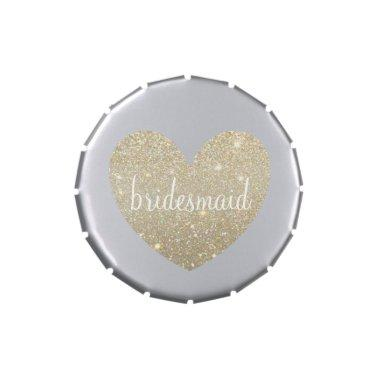 Gift Candy Tin - Heart Fab bridesmaid