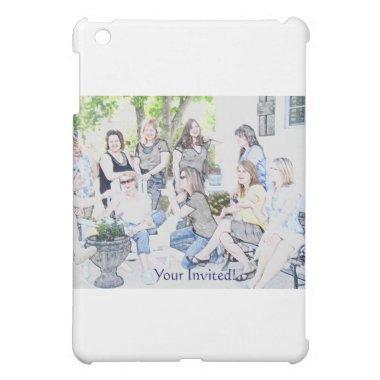 GirlsOinvite iPad Mini Case