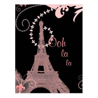 girly chic french country paris eiffel tower post
