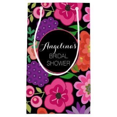 Girly Floral Birthday Party or  Small Gift Bag