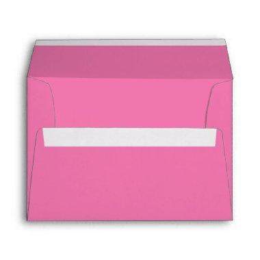 Girly Pink A7 Envelope