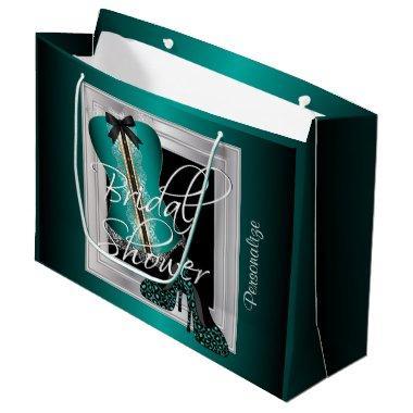 Glamorous Lingerie  | Teal Large Gift Bag