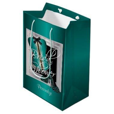 Glamorous Lingerie  | Teal Medium Gift Bag