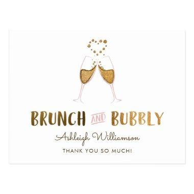 Gold Brunch & Bubbly  | Thank You Post