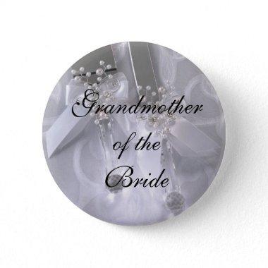 Grandmotherof theBride Pinback Button