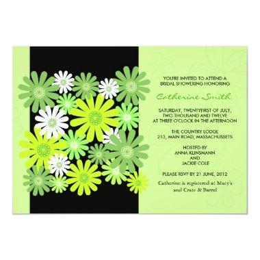 Green Gerber Daisy