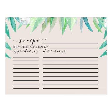 Greenery Botanical  Recipe