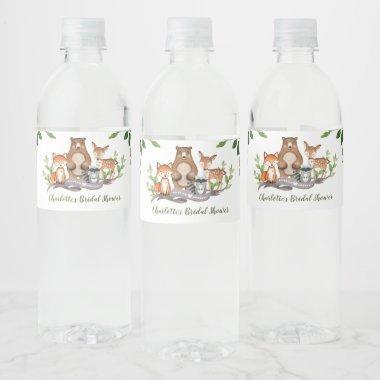 Burnt Orange Wedding Water Bottle Label Rust Watercolor Water Bottle Label Template Navy Water Bottle Stickers JAYLA Baby Shower Bridal